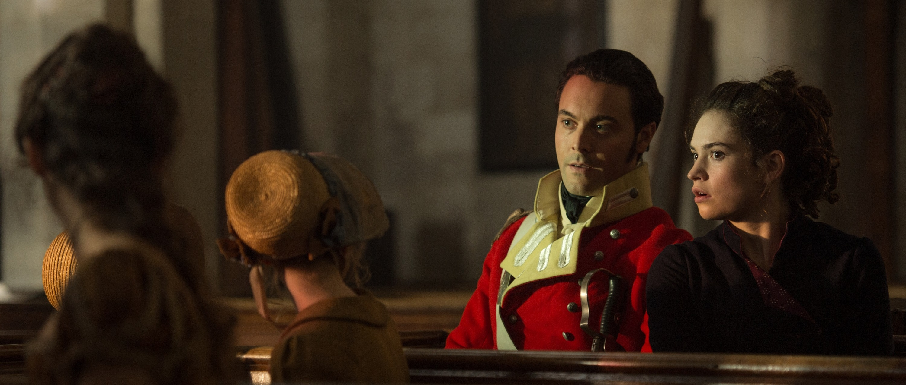 Jack Huston e Lily James in PPZ